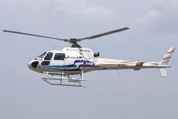 RJOY_Spotterさんが、八尾空港で撮影したつくば航空 AS350B2 Ecureuilの航空フォト(飛行機 写真・画像)