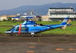 LOTUSさんが、八尾空港で撮影した広島県警察 A109E Powerの航空フォト(飛行機 写真・画像)