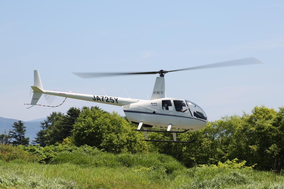 よっしぃさんのオートパンサー Robinson R44 (JA725Y) 航空フォト