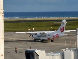 さとさとさんが、奄美空港で撮影した日本エアコミューター ATR 42-600の航空フォト(飛行機 写真・画像)
