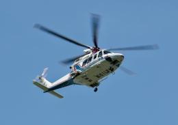 しゅう1RRさんが、栃木ヘリポートで撮影した三重県防災航空隊 AW139の航空フォト(飛行機 写真・画像)