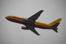 ズイ₍₍ง˘ω˘ว⁾⁾ズイさんが、シアトル タコマ国際空港で撮影したDHL 767-281(BDSF)の航空フォト(飛行機 写真・画像)