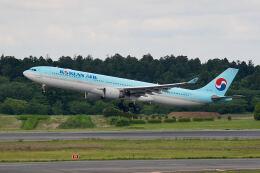 やまモンさんが、成田国際空港で撮影した大韓航空 A330-323Xの航空フォト(飛行機 写真・画像)
