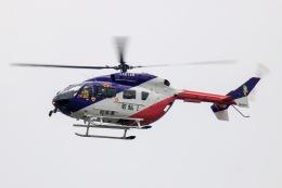 だいふくさんが、岐阜基地で撮影した岐阜県防災航空隊 BK117C-2の航空フォト(飛行機 写真・画像)