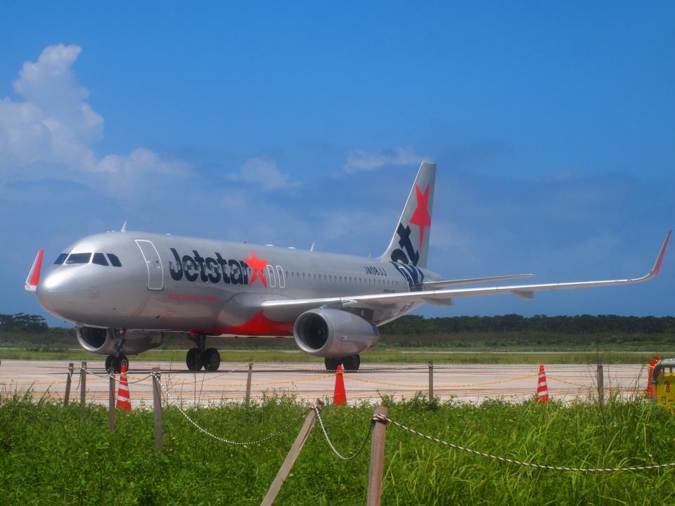 FT51ANさんのジェットスター・ジャパン Airbus A320 (JA08JJ) 航空フォト