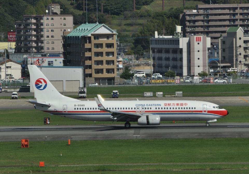 チャーリーマイクさんの中国東方航空 Boeing 737-800 (B-5589) 航空フォト
