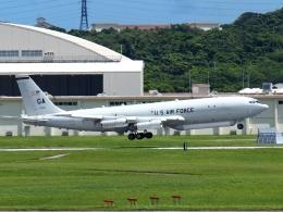 FT51ANさんが、嘉手納飛行場で撮影したアメリカ空軍 E-8C J-Stars (707-300C)の航空フォト(飛行機 写真・画像)