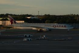SIさんが、成田国際空港で撮影したカタール航空 777-3DZ/ERの航空フォト(飛行機 写真・画像)