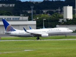 FT51ANさんが、嘉手納飛行場で撮影したユナイテッド航空 737-824の航空フォト(飛行機 写真・画像)