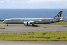 ▲®さんが、中部国際空港で撮影したエティハド航空 787-10の航空フォト(飛行機 写真・画像)