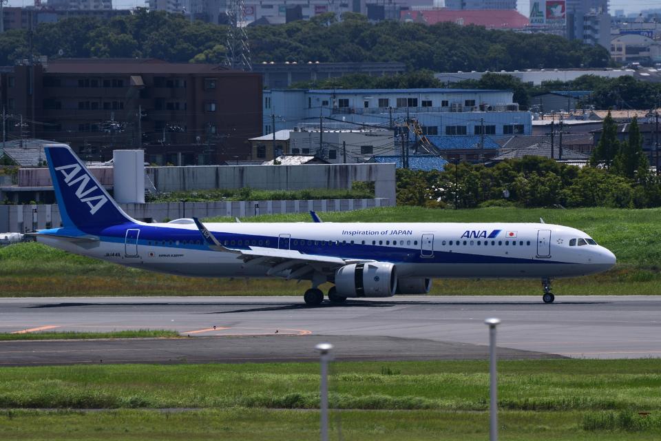 TOPAZ102さんの全日空 Airbus A321neo (JA144A) 航空フォト