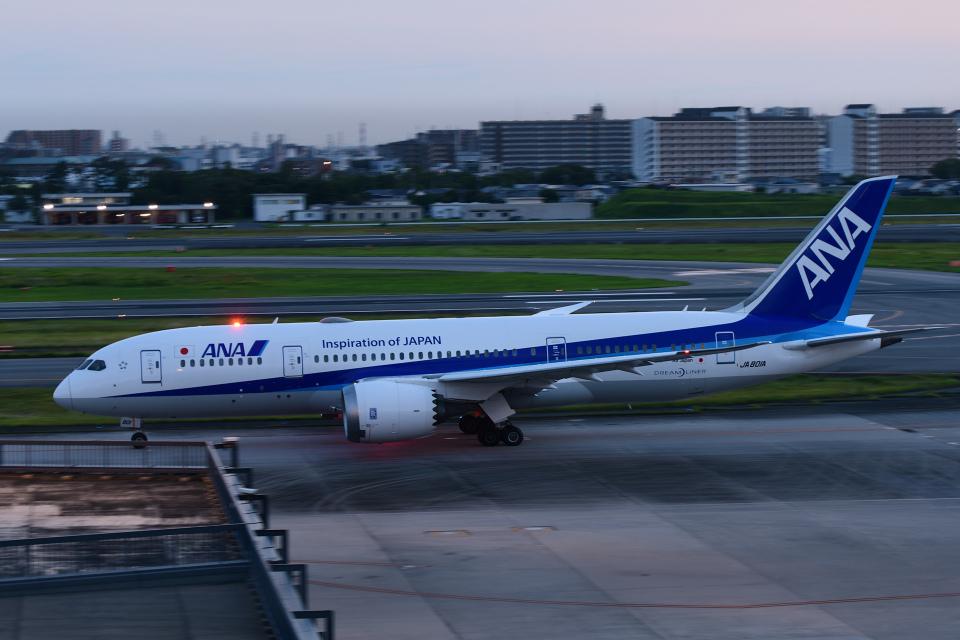 TOPAZ102さんの全日空 Boeing 787-8 Dreamliner (JA801A) 航空フォト