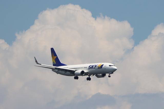 imosaさんが、羽田空港で撮影したスカイマーク 737-8ALの航空フォト(飛行機 写真・画像)