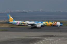 kumagorouさんが、羽田空港で撮影した全日空 777-381の航空フォト(飛行機 写真・画像)