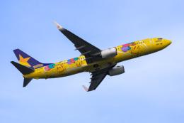 ぐっちーさんが、羽田空港で撮影したスカイマーク 737-8ALの航空フォト(飛行機 写真・画像)