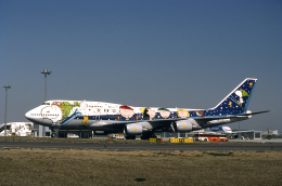 JAパイロットさんが、羽田空港で撮影した全日空 747-481(D)の航空フォト(飛行機 写真・画像)