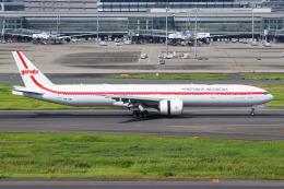 kuraykiさんが、羽田空港で撮影したインドネシア政府 777-3U3/ERの航空フォト(飛行機 写真・画像)
