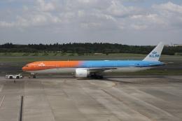 KOKI_ANA-Brussels767さんが、成田国際空港で撮影したKLMオランダ航空 777-306/ERの航空フォト(飛行機 写真・画像)