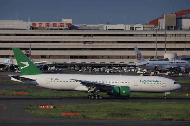 航空フォト:EZ-A780 トルクメニスタン航空 777-200
