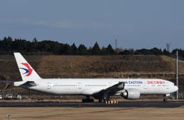 チャーリーマイクさんが、成田国際空港で撮影した中国東方航空 777-39P/ERの航空フォト(飛行機 写真・画像)