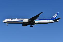Deepさんが、成田国際空港で撮影した全日空 777-381/ERの航空フォト(飛行機 写真・画像)