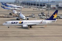 わんだーさんが、中部国際空港で撮影したスカイマーク 737-8FHの航空フォト(飛行機 写真・画像)