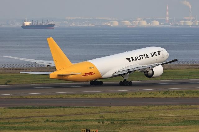 わんだーさんが、中部国際空港で撮影したカリッタ エア 777-F1Hの航空フォト(飛行機 写真・画像)