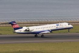 わんだーさんが、中部国際空港で撮影したアイベックスエアラインズ CL-600-2C10(CRJ-702)の航空フォト(飛行機 写真・画像)