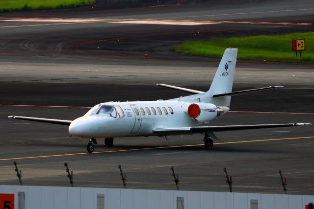 Zakiyamaさんが、熊本空港で撮影した中日本航空 560 Citation Vの航空フォト(飛行機 写真・画像)