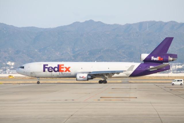 わたるでござるさんが、関西国際空港で撮影したフェデックス・エクスプレス MD-11Fの航空フォト(飛行機 写真・画像)