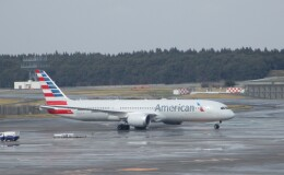 Kyoheiさんが、成田国際空港で撮影したアメリカン航空 787-9の航空フォト(飛行機 写真・画像)