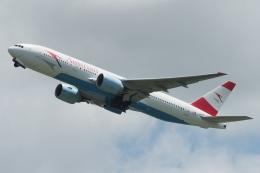 木人さんが、成田国際空港で撮影したオーストリア航空 777-2Z9/ERの航空フォト(飛行機 写真・画像)