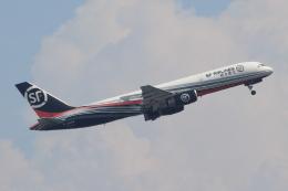 キイロイトリさんが、関西国際空港で撮影したSF エアラインズ 757-2Z0(PCF)の航空フォト(飛行機 写真・画像)