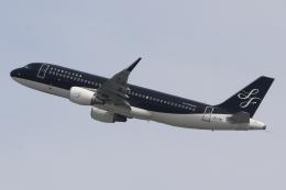 キイロイトリさんが、関西国際空港で撮影したスターフライヤー A320-214の航空フォト(飛行機 写真・画像)