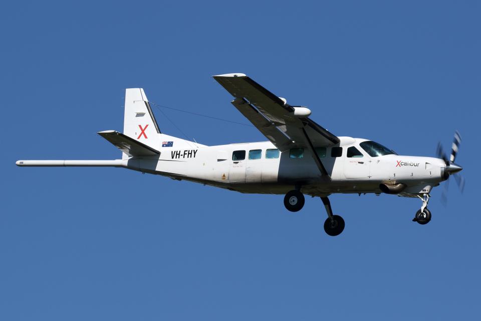 Echo-Kiloさんのオーストラリア企業所有 Cessna 208 (VH-FHY) 航空フォト