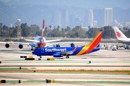まいけるさんが、ロサンゼルス国際空港で撮影したサウスウェスト航空 737-76Nの航空フォト(飛行機 写真・画像)