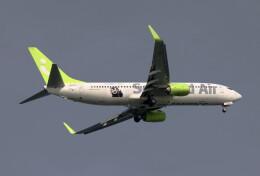 動物村猫君さんが、大分空港で撮影したソラシド エア 737-86Nの航空フォト(飛行機 写真・画像)