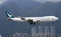 Asamaさんが、香港国際空港で撮影したキャセイパシフィック航空 747-867F/SCDの航空フォト(飛行機 写真・画像)
