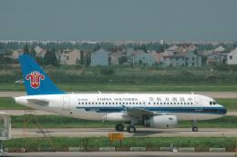 チャーリーマイクさんが、上海浦東国際空港で撮影した中国南方航空 A319-132の航空フォト(飛行機 写真・画像)