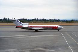 Gambardierさんが、シアトル タコマ国際空港で撮影したウェスタン航空 727-247/Advの航空フォト(飛行機 写真・画像)