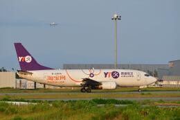 天心さんが、関西国際空港で撮影したYTOカーゴ・エアラインズ 737-36Q(SF)の航空フォト(飛行機 写真・画像)