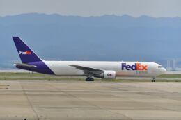 天心さんが、関西国際空港で撮影したフェデックス・エクスプレス 767-3S2F/ERの航空フォト(飛行機 写真・画像)