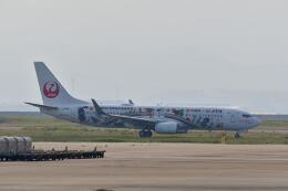 天心さんが、関西国際空港で撮影した日本トランスオーシャン航空 737-8Q3の航空フォト(飛行機 写真・画像)