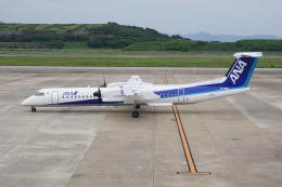 神宮寺ももさんが、長崎空港で撮影したANAウイングス DHC-8-402Q Dash 8の航空フォト(飛行機 写真・画像)