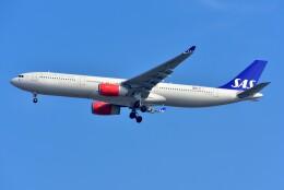 islandsさんが、羽田空港で撮影したスカンジナビア航空 A330-343Xの航空フォト(飛行機 写真・画像)