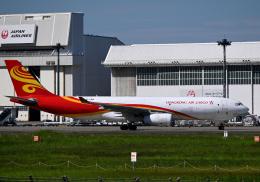 雲霧さんが、成田国際空港で撮影した香港エアカーゴ A330-243Fの航空フォト(飛行機 写真・画像)