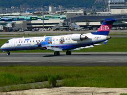 うすさんが、伊丹空港で撮影したアイベックスエアラインズ CL-600-2C10(CRJ-702ER)の航空フォト(飛行機 写真・画像)