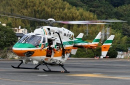 TA27さんが、静岡ヘリポートで撮影した静岡県消防防災航空隊 BK117C-1の航空フォト(飛行機 写真・画像)