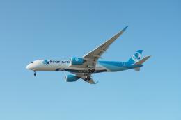 thomasYVRさんが、バンクーバー国際空港で撮影したフレンチビー A350-941の航空フォト(飛行機 写真・画像)