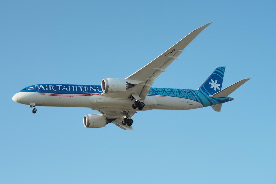 thomasYVRさんのエア・タヒチ・ヌイ Boeing 787-9 (F-OVAA) 航空フォト